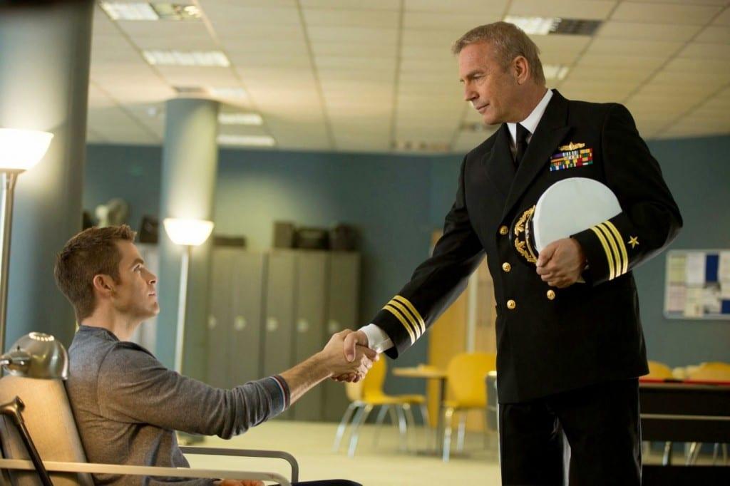 Jack Ryan and Thomas Harper shaking hands