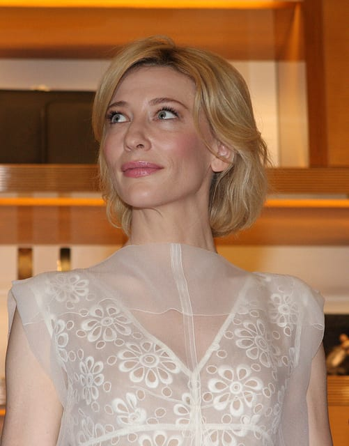 An image of Cate Blanchett star of Blue Jasmine.