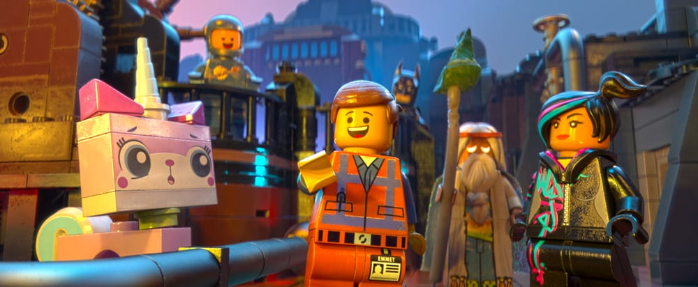 An image of the lego movie characters.
