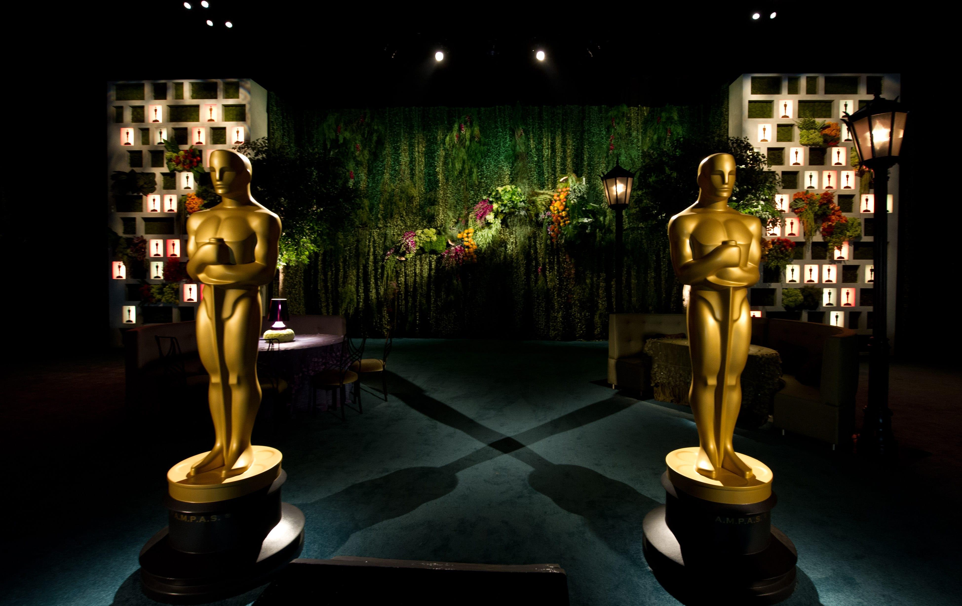 The academy awards 2014 inside film for Award ceremony decoration ideas