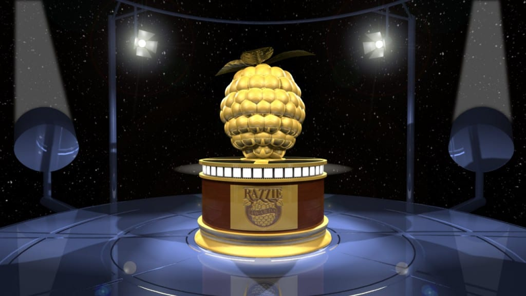 A Golden Raspberry Award