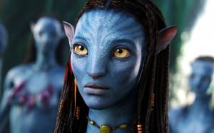 A blue character from Avatar