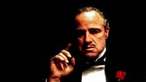 Marlon Brando as Mafia boss Vito Corleone