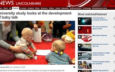 Lincoln Research Project Features on the BBC