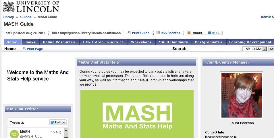 MASH page