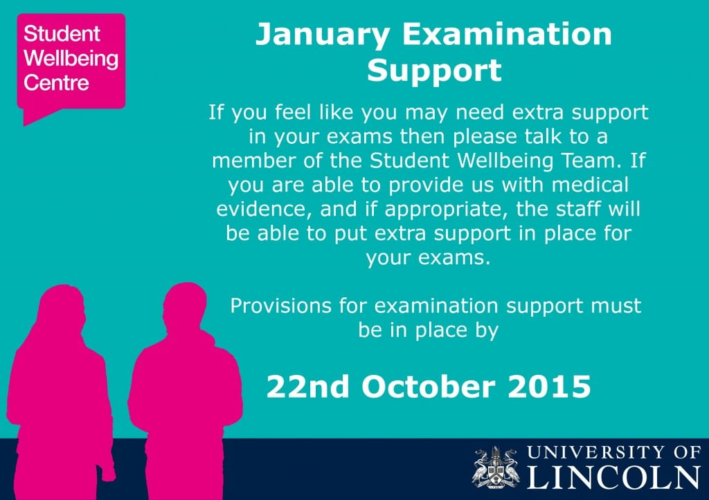Exam Support Poster - landscape Oct 15