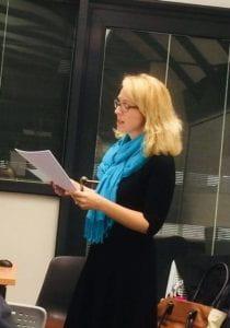 Dr Elena Woodacre
