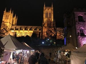 The Medieval Christmas Market at Lincoln