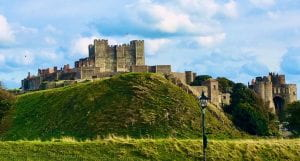 An image of Dover castle