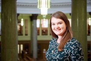 A photograph of Hannah MacKenzie.