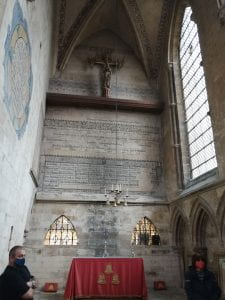 The southwest chapel (Ringers' Chapel), Lincoln cathedral.