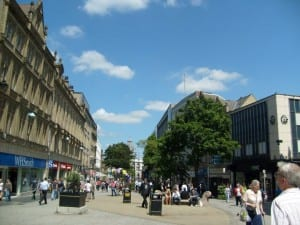 Sheffield city centre