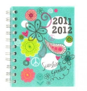 Paperchase floral diary
