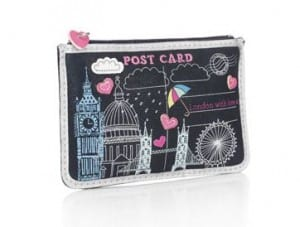 Postcard purse from Accessorize