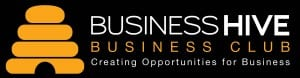 Business Club Logo for black background