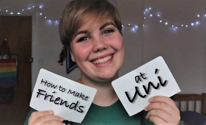 How to make friends at uni?