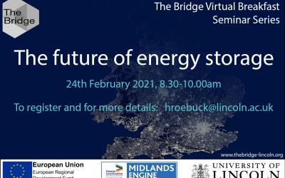 The future of energy storage – virtual breakfast seminar