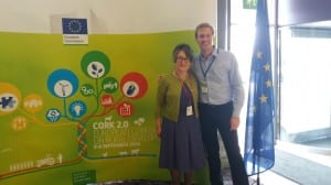 With Carmen Hubbard, Newcastle University, one of the drafters of the Declaration