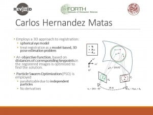 Carlos Hernandez Matas Progress report 4 slide