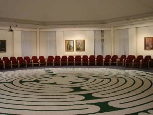 Canvas Chartres Labyrinth Senate Chamber