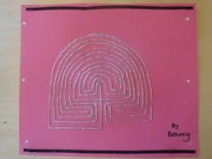 silver labyrinth
