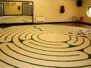 Labyrinth at Staffordshire University