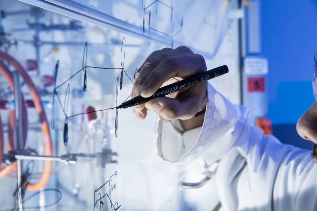 Chemistry on fumehood - Shreesha Bhatt