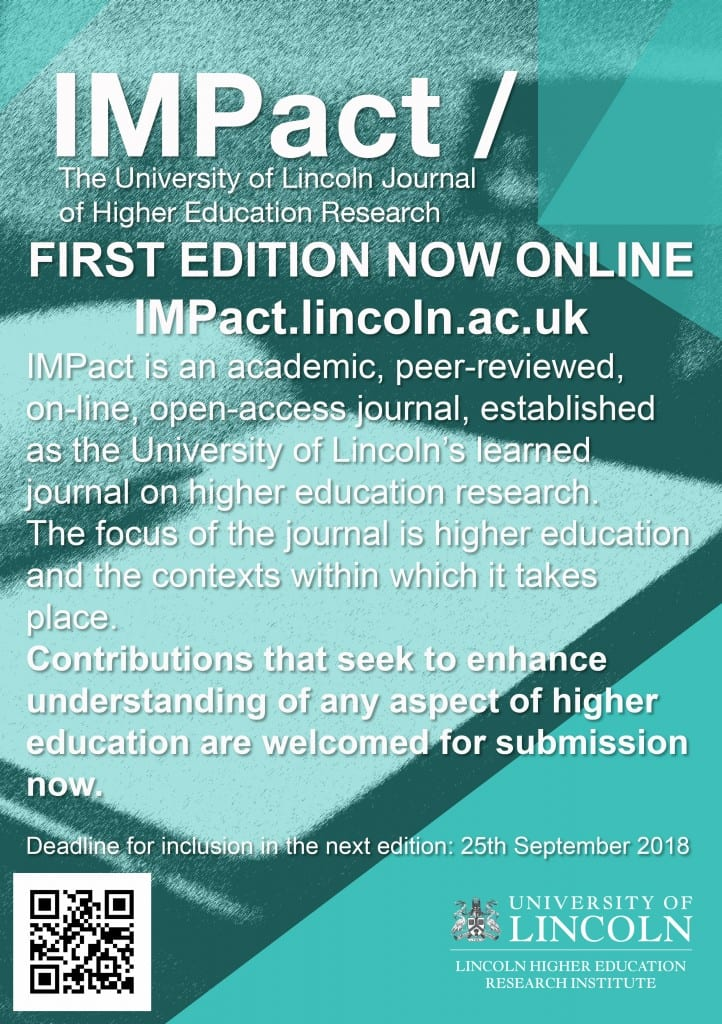 Impact Second Edition Call For Papers