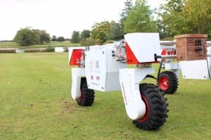 Pictured is Thorvald, LIAT's Agri-Robot.