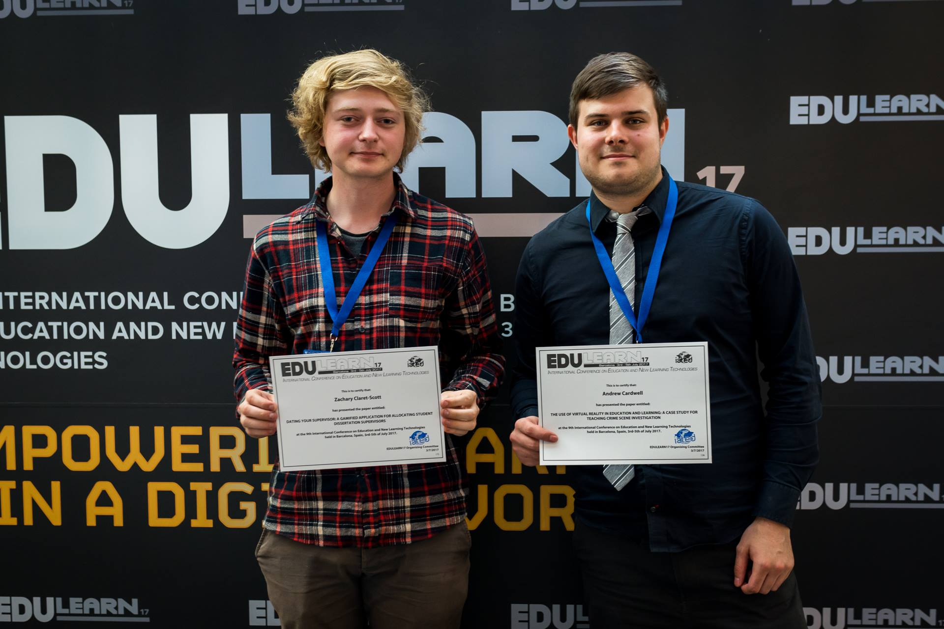 Student showcases VR work at EduLearn 2017