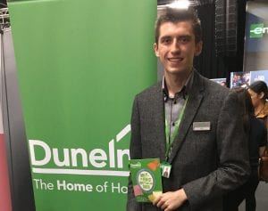 Luke at the Find Your Feet Careers Fair, 1st Nov 2017