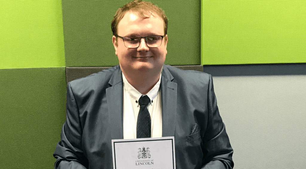 Great success for MSc Computer Science Graduate at Lincoln