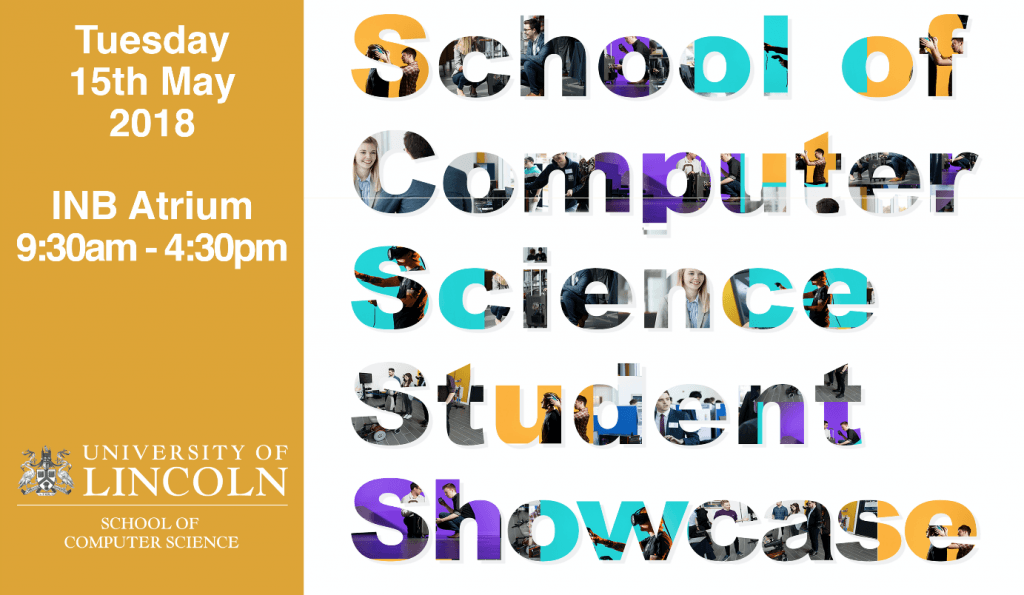 School of Computer Science Student Showcase 2018