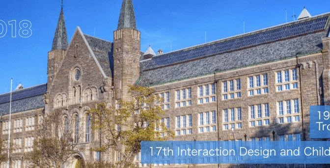 intLab Members Attend 2018 ACM Interaction Design and Children Conference, Trondheim