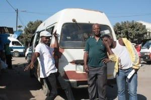 Chapa drivers in Maputo