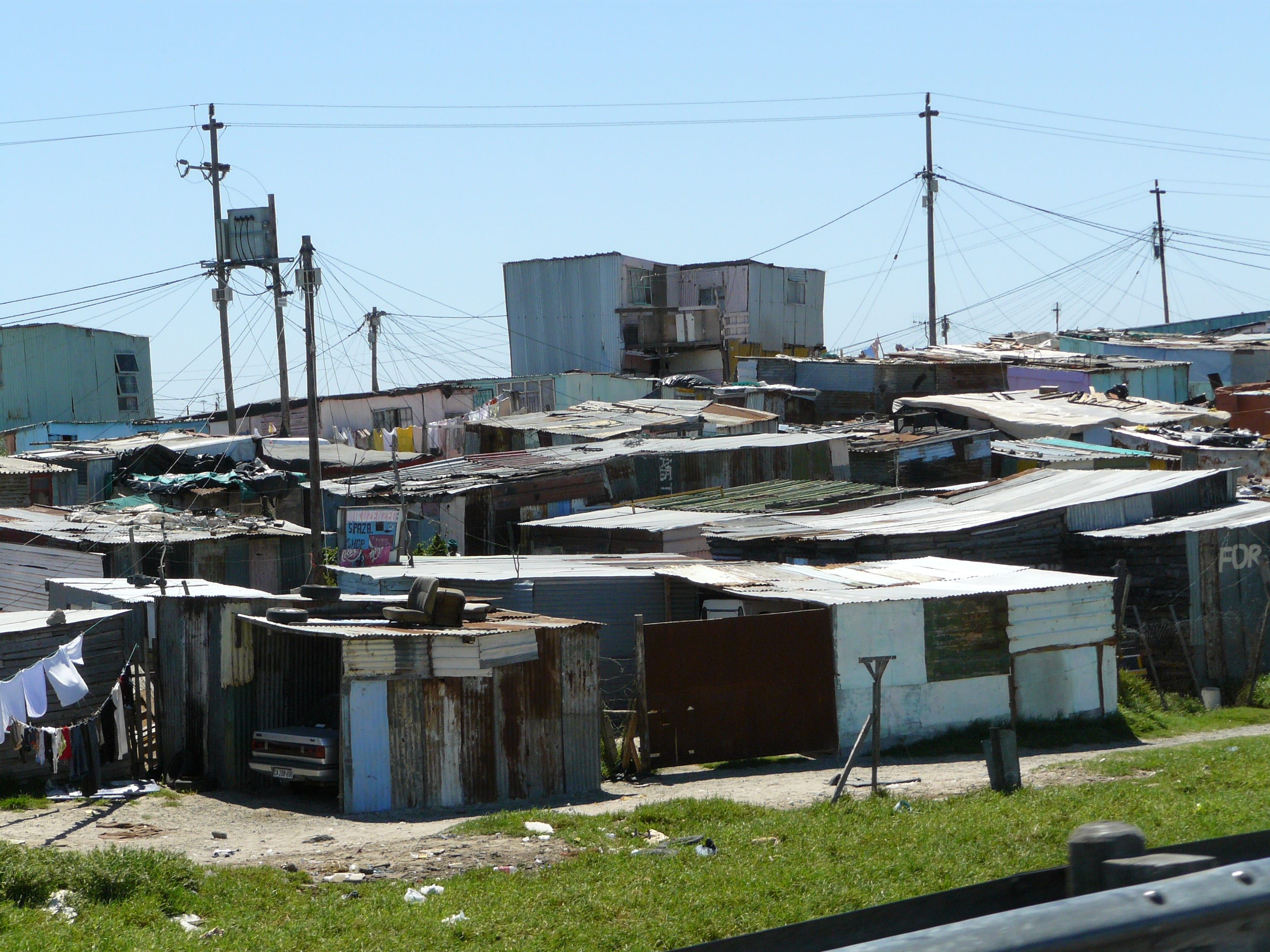 Khayelitsha Township, Western Cape, 2008. Photo credit: Chell Hill.