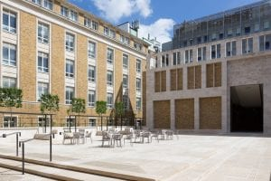 The Wilkins Terrace, where a new Donor Wall will be unveiled in autumn 2018