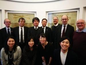Osaka visit to UCL