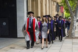 UCL Australia graduation