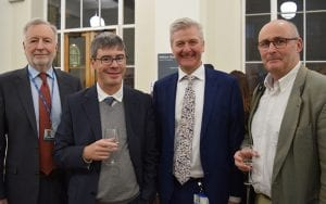 UCL academics at the UK launch of the Discoveries centre