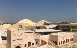 The National Museum of Qatar. Image: Karen Exell