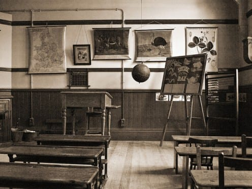 Schoolroom - Photo by Gerry Balding (Creative Commons)