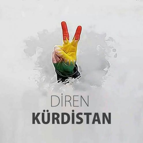 Facebook profile picture from south-east Turkey