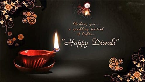 A meme celebrating the religious festival of Diwali (Original author unknown)