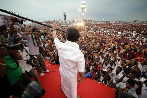 Image Courtesy: @mkstalin and image shared on Saravanan's Facebook profile
