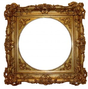 Posh_Gold_Frame_Stock_by_SockMonkeyStock