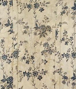 Chintz cape Coromandel coast, ca. 1775-80, Cotton, printed and dyed, IS.104-1950. Courtesy of the Victoria and Albert Museum, London.