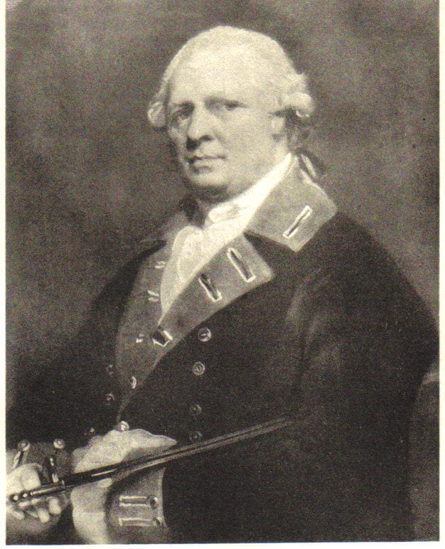 General Patrick Duff portrait
