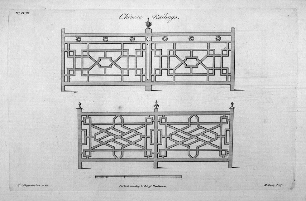 Chinese' Staircase Case Study: The 'China Craze' – East India ...