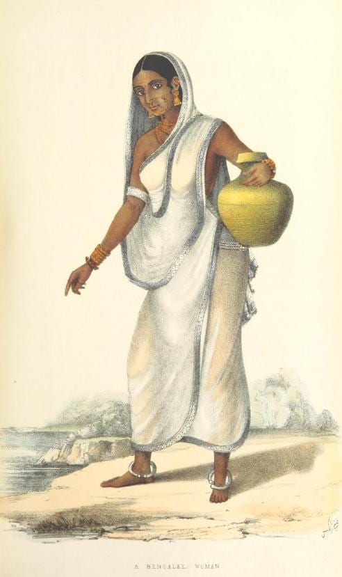 Bengali woman Wanderings Vol I
